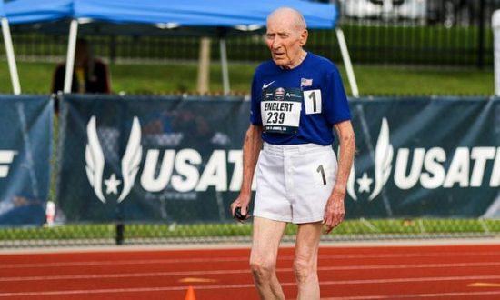 A 96 anni corre i 5000 metri in 42: 30.23 agli usatf masters outdoor- IL VIDEO