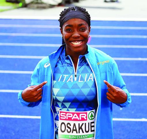 Imbarazzo alle Universiadi: perché l'oro di Daisy Osakue non è stato visto in Tv?