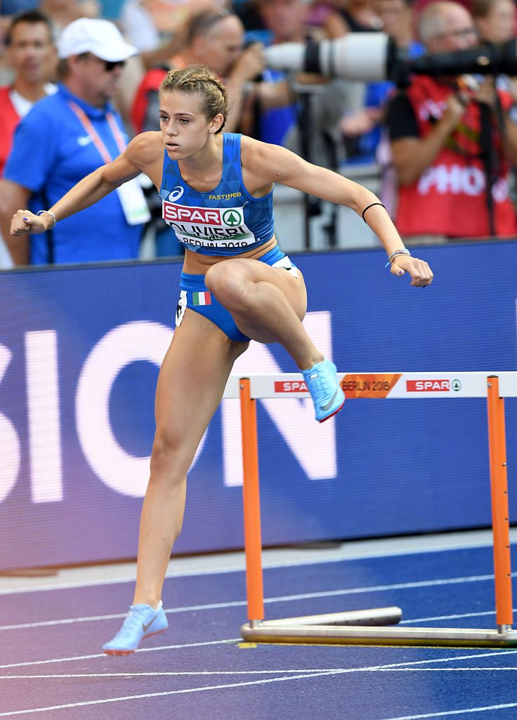Europei U 23: super argento per Linda Olivieri nei 400 ostacoli