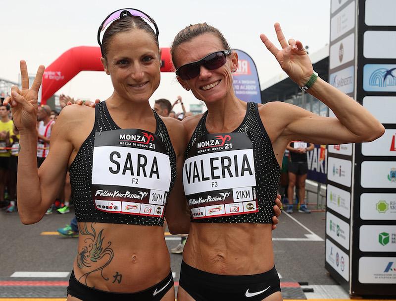 Valeria Straneo e Sara Dossena a  Livigno per preparare i mondiali di Doha