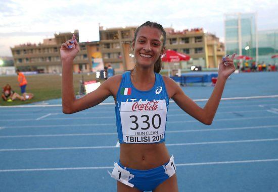 Europei U20: sfavillante argento di Nadia Battocletti nei 5.000 metri