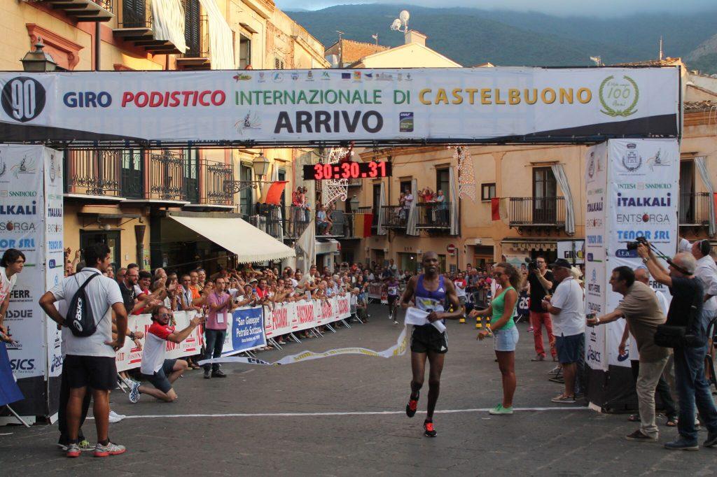 Risultati Giro di Castelbuono: spettacolare sprint per la vittoria-Tadesse su Moen, 7° Daniele Meucci