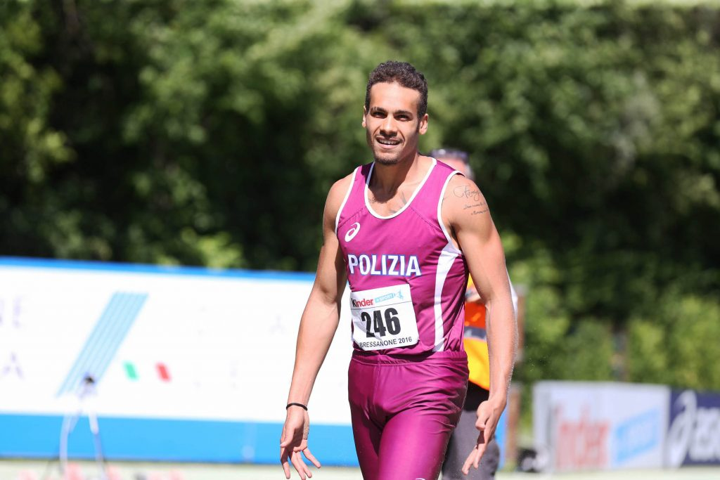 """Marcell Jacobs subito velocissimo a Trieste, 10""""11 sui 100 metri- la diretta facebook"""