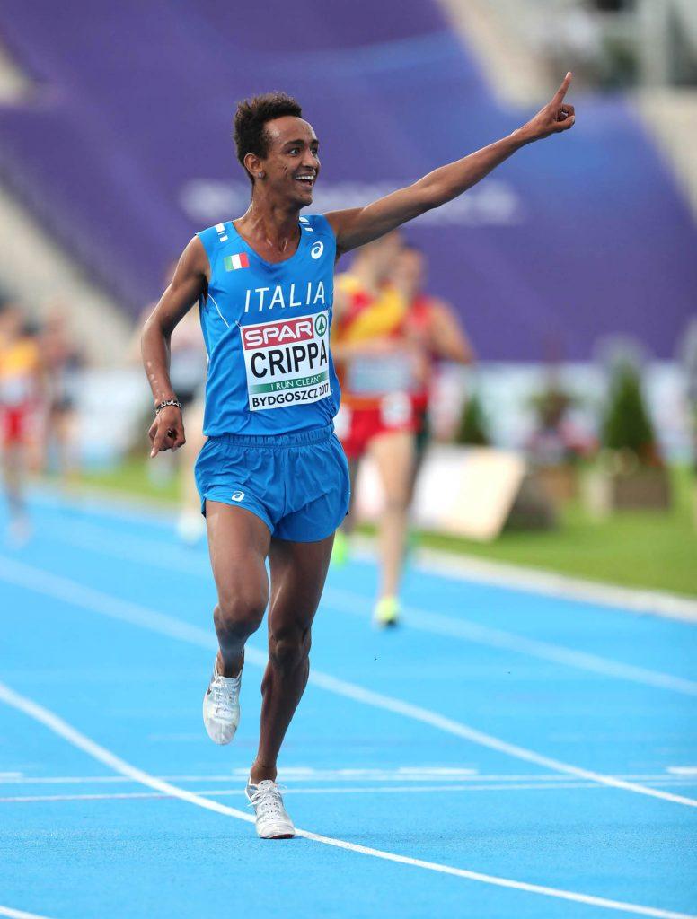 Un fantastico Yeman Crippa firma il PB nei 5000 metri di Londra