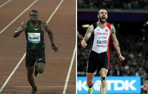 Mega sfida Coleman vs Guliyev nei 200 m. stasera in diretta streaming da Budapest