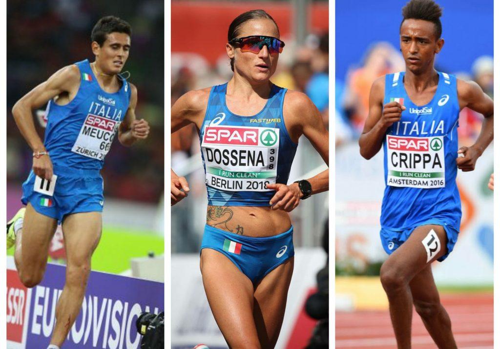 Dossena-Crippa-Meucci pronti questa sera per la Coppa Europa dei 10.000 di Londra- LA DIRETTA