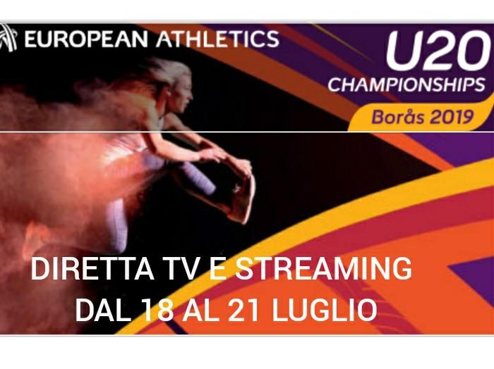 Europei U 20: ecco le dirette TV e streaming partendo da domani 18 giugno