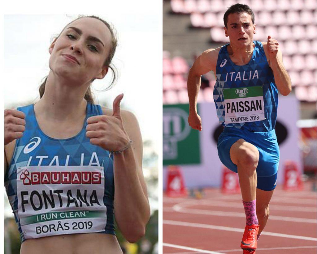 Europei U20: strabilianti vittorie nei 100 metri degli azzurri Vittoria Fontana e Lorenzo Paissan