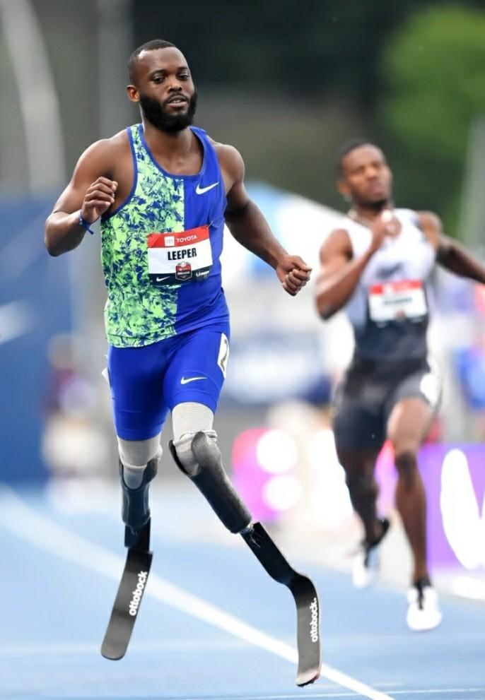 Doppio amputato arriva 5° nella finale dei 400 metri ai campionati Usa correndo in 44,38 la semifinale!