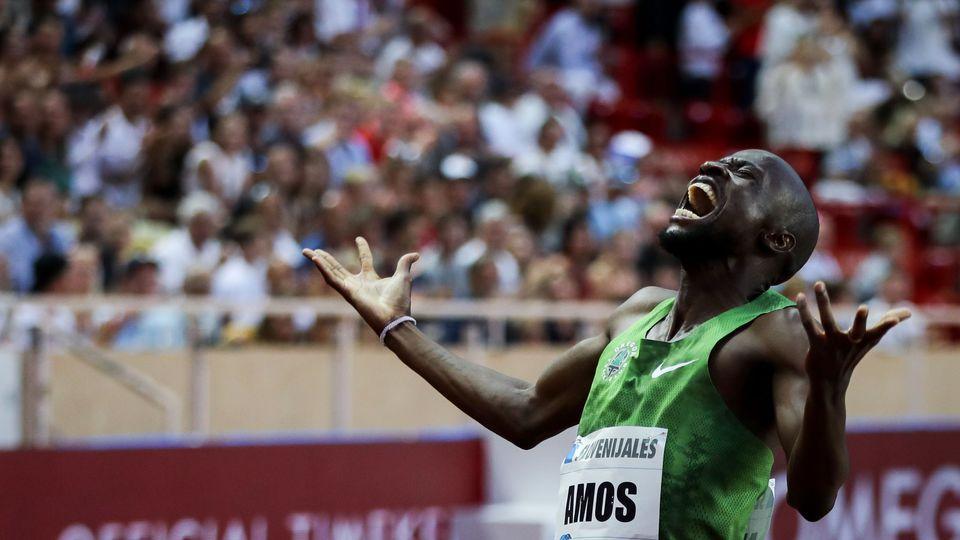 Monaco: supersonico 800 metri di Nijel Amos, 1:41.89!