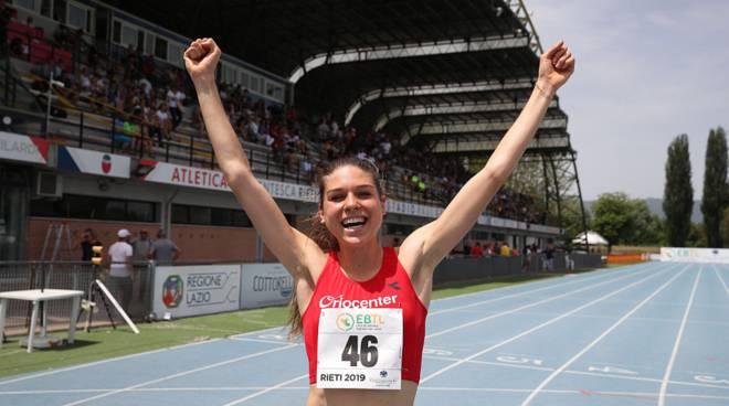 Assoluti Bressanone: Marta Zenoni vince il titolo nei 5000 col PB