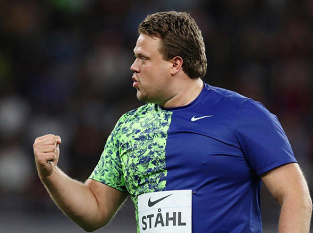 Daniel Ståhl scatenato, 4 lanci sopra i 70 metri stasera nel disco