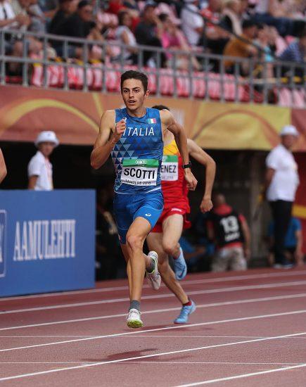 Europei U20: raggiante oro di Edoardo Scotti nei 400 metri, bronzo di Mattia Donola nei 200