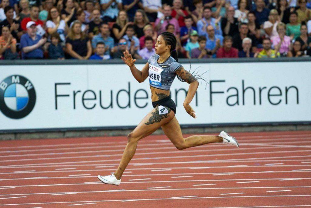 Zurigo diretta streaming free: Salwa Eid Naser vince i 400 metri