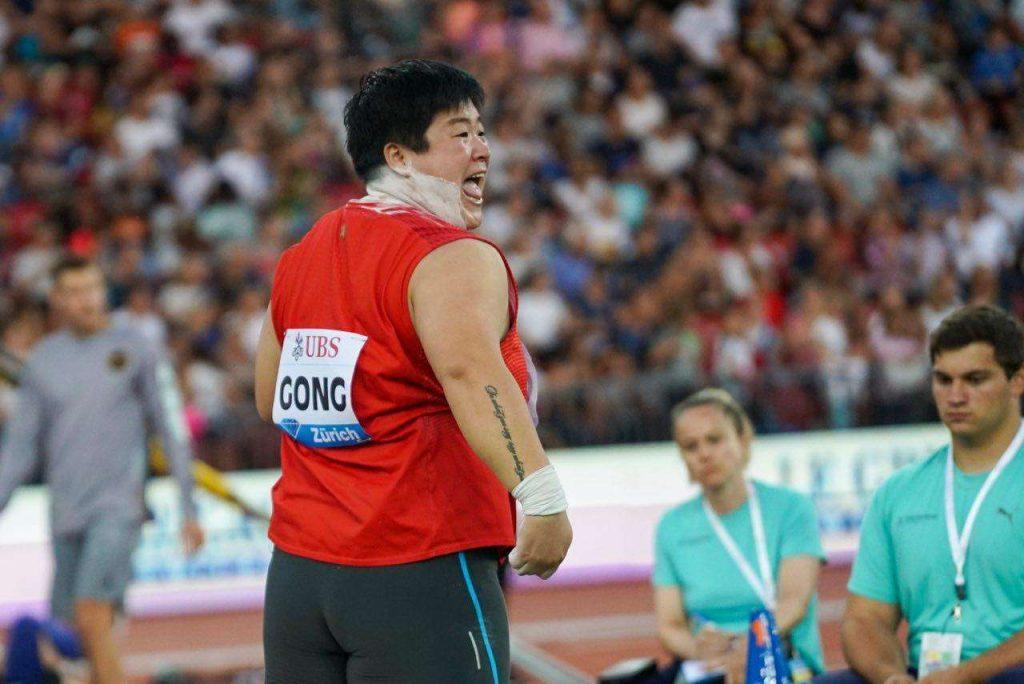 Zurigo diretta streaming free: Lijiao GONG nel peso miglior prestazione mondiale