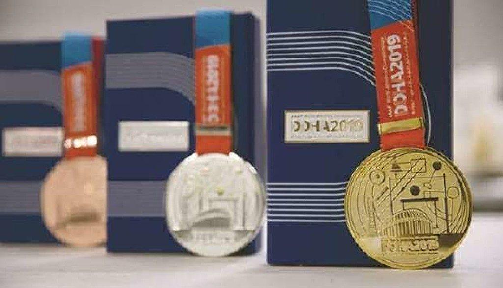 Svelate le medaglie dei Campionati mondiali di atletica leggera di Doha