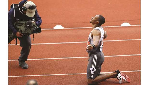 Il video di Yohan Blake che vince 100m alla Birmingham Diamond League