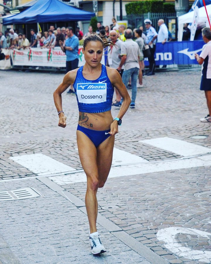 Sara Dossena vince la Corrida di San Lorenzo
