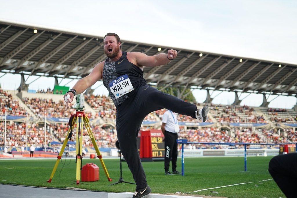 Parigi Diamond League: imponente vittoria per Tomas Walsh nel peso