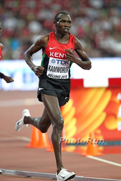Geoffrey Kamworor vince i trials keniani sui 10000 ma rinuncia ai mondiali, meglio la Maratona di New York