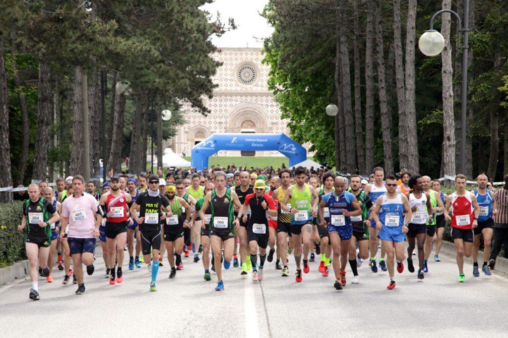 """Aperte le iscrizioni alla Mezza Maratona """"L'Aquila Città del Mondo"""" in programma il 27 ottobre 2019"""
