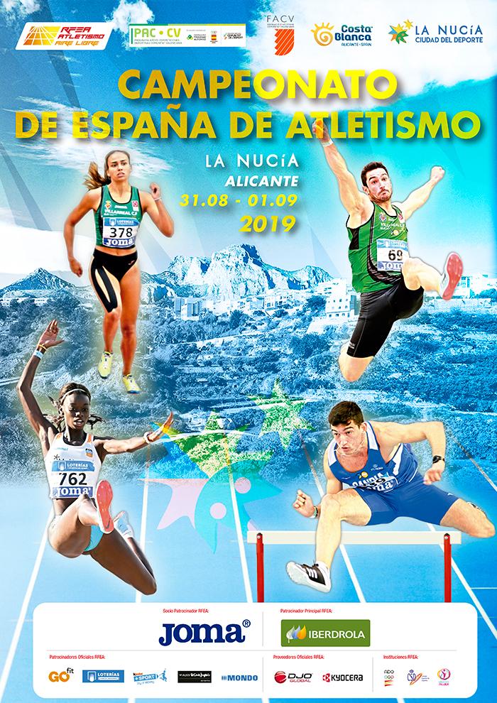 Oggi iniziano i Campionati Spagnoli di atletica
