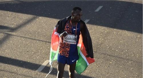 Bedan Karoki 59:05 e Abadel Brihane 67:48 battono i record della mezza maratona di Buenos Aires
