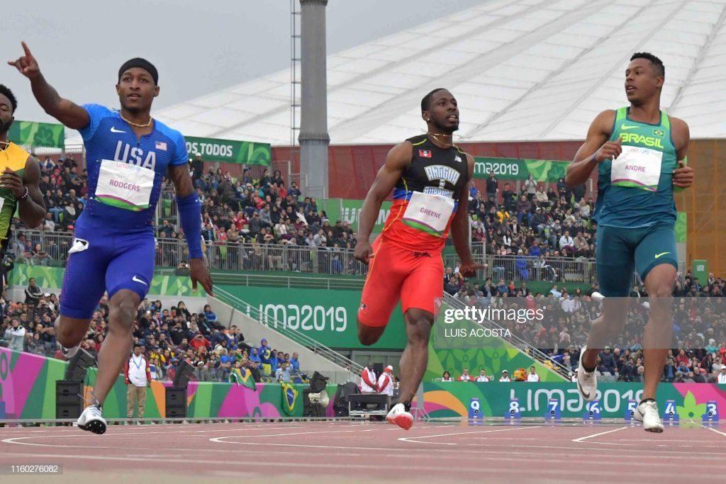 Il video dei 100 metri di Michael Rodgers che vince ai Giochi Panamericani