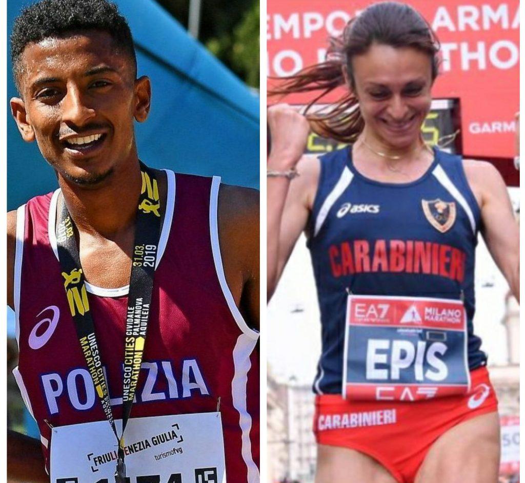 Eyob Faniel e Giovanna Epis si aggiudicano la Maratonina Città di Scorzè