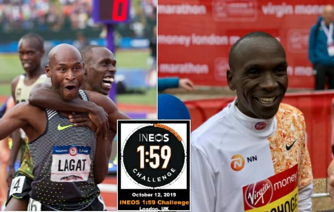 Ineos 1:59 Eliud Kiochoge- Bernard Lagat, Augustine Choge e Victor Chumo sono gli altri 3 pacemaker di lusso