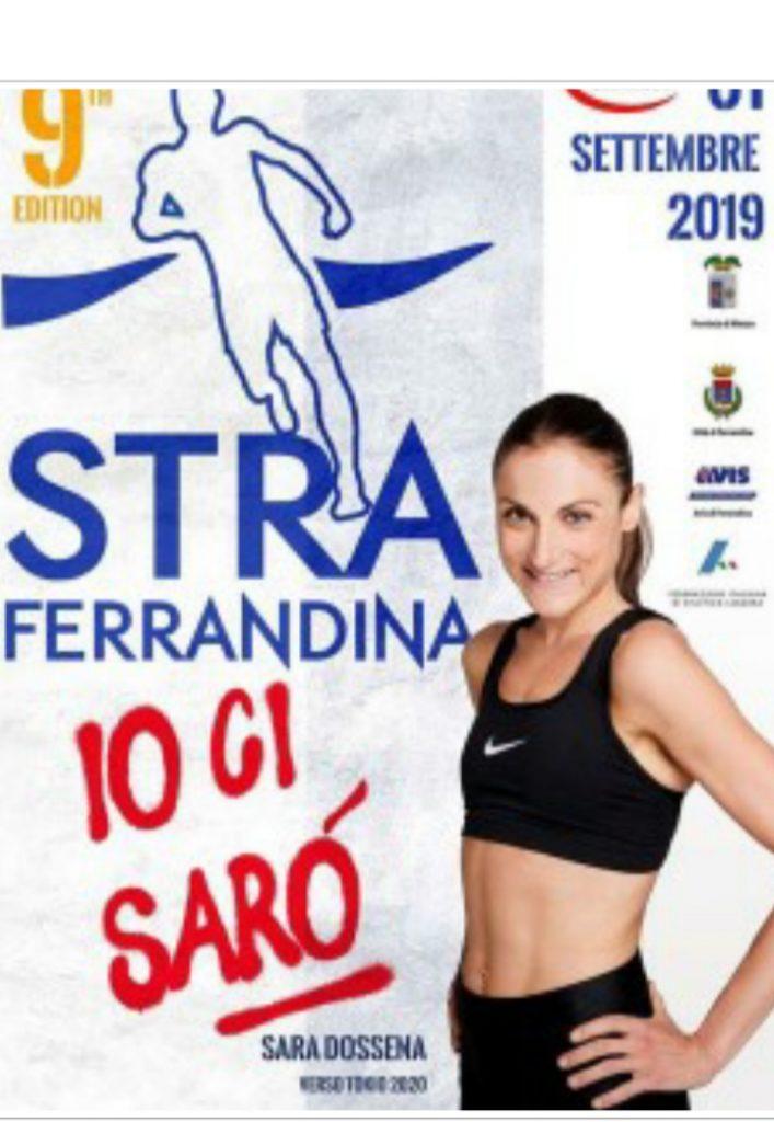 Sara Dossena  domenica correrà la Straferrandina in provincia di Matera