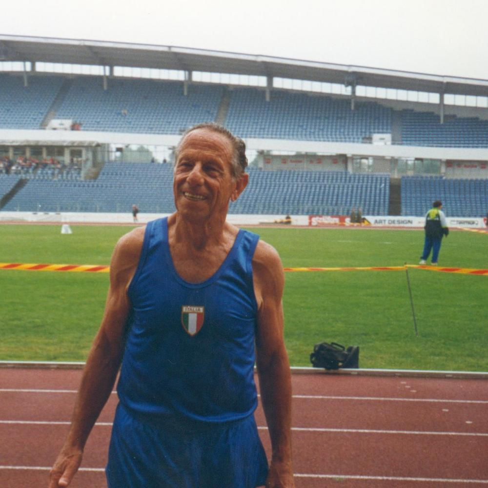 Scomparso a 100 anni Ugo Sansonetti, veterano dell'atletica master italiana