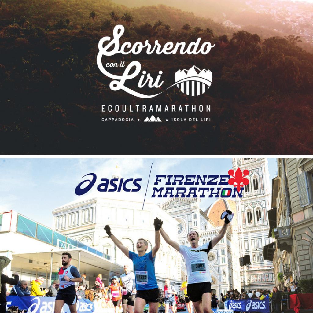 """Asics Firenze Marathon e """" Scorrendo con il Liri"""": tariffa speciale per iscriversi ad entrambe le gare"""