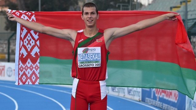 Europa-Usa: si vola nell'alto, 2,35 del bielorusso Maksim Nedasekau