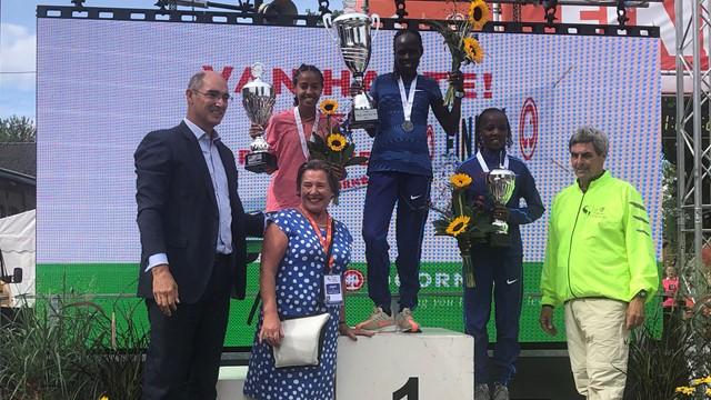 Record Europeo nei 10.000 metri di Lonah Chemtai Salpeter (Israele), cancellata Paula Radcliffe