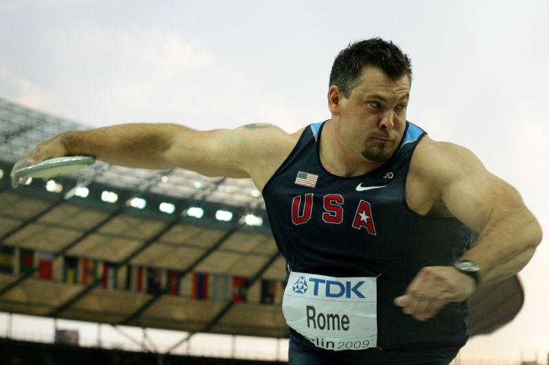 Morto a 42 anni il 2 volte olimpionico del disco USA Jarred Rome