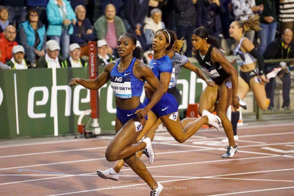 Bruxelles Live: Dina Asher-Smith nei 100m è un ciclone
