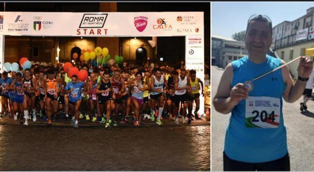 Muore podista alla mezza maratona Roma by night Run