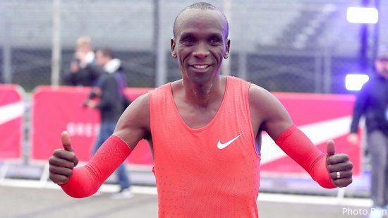 Eliud Kipchoge: Kamworor può battere il mio record nella Maratona