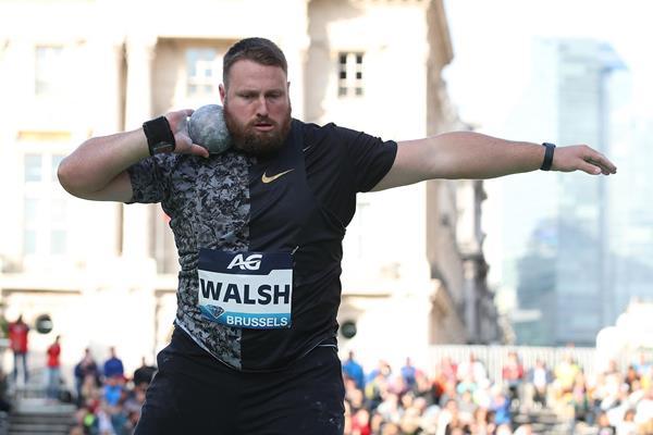 Bruxelles Diamond league, Tom Walsh vince il getto del peso