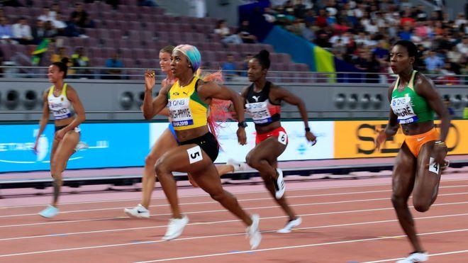 Mondiali Doha:  Shelly-Ann Fraser-Pryce e la donna più veloce del mondo