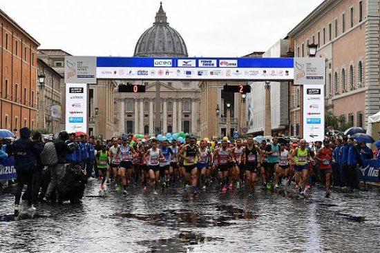 Risultati Rome Half Marathon Via Pacis: vince l'azzurra Fatna Maraoui