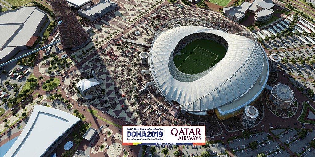 Mondiali Doha: le dirette solo su Raisport, per l'atletica INTOCCABILI RAI 1, 2, 3 !