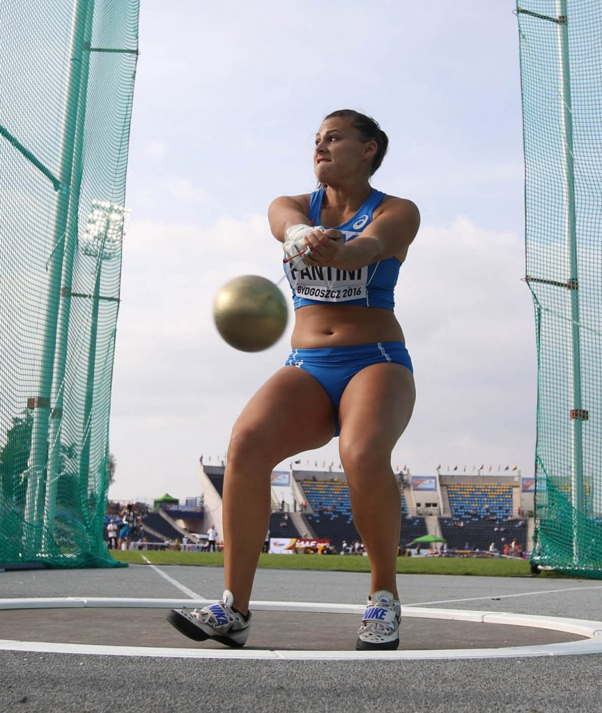 Sara Fantini protagonista a Modena nel martello con 68,27