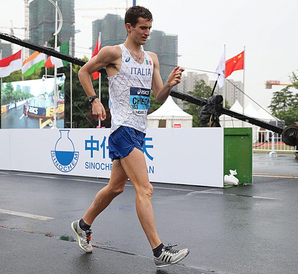 Marcia  Chiasso: Stefano Chiesa vince la 20 km, Valentina Trapletti terza
