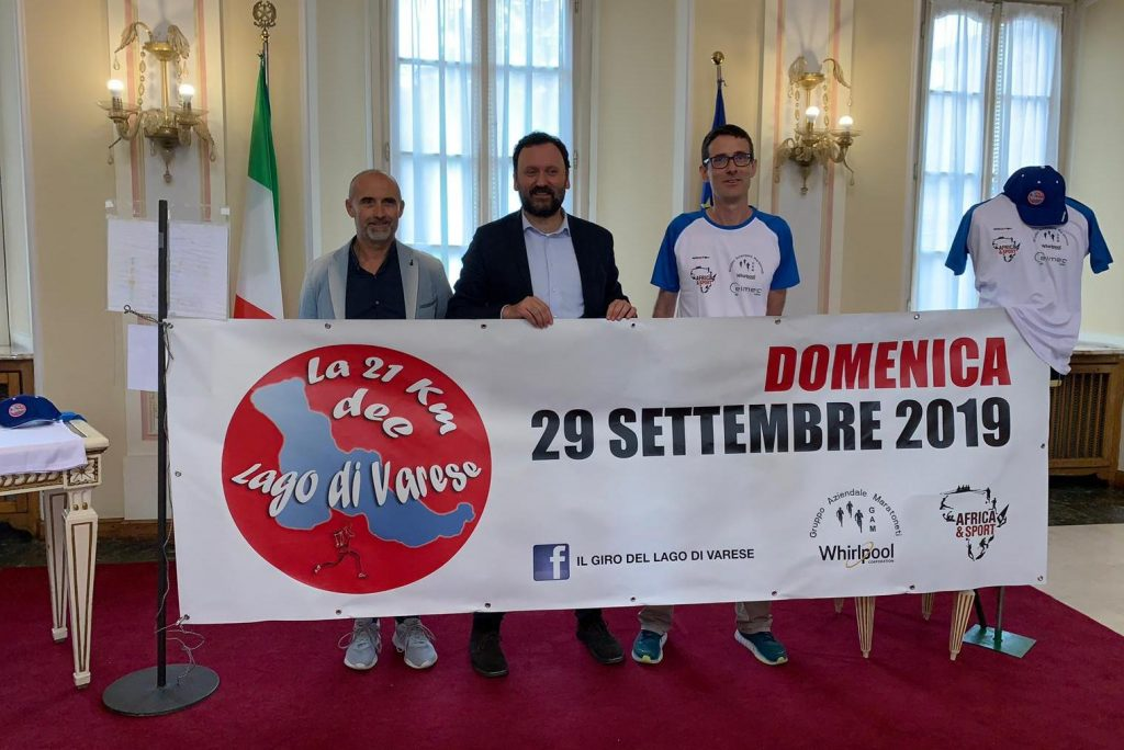 """Domenica la 1° edizione de """"La 21 km del Lago di Varese"""""""