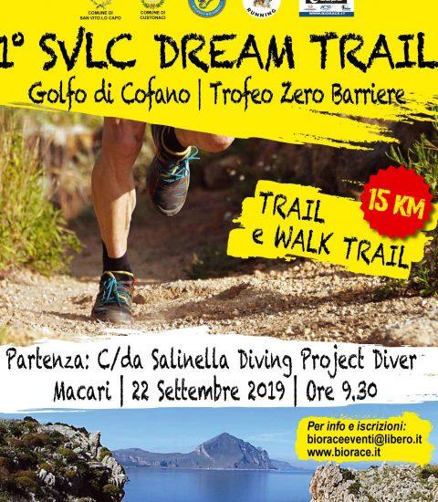 Trail Running: Domenica il SVLC Dream TRAIL Golfo di Cofano tra i comuni di San Vito Lo Capo e Custonaci.