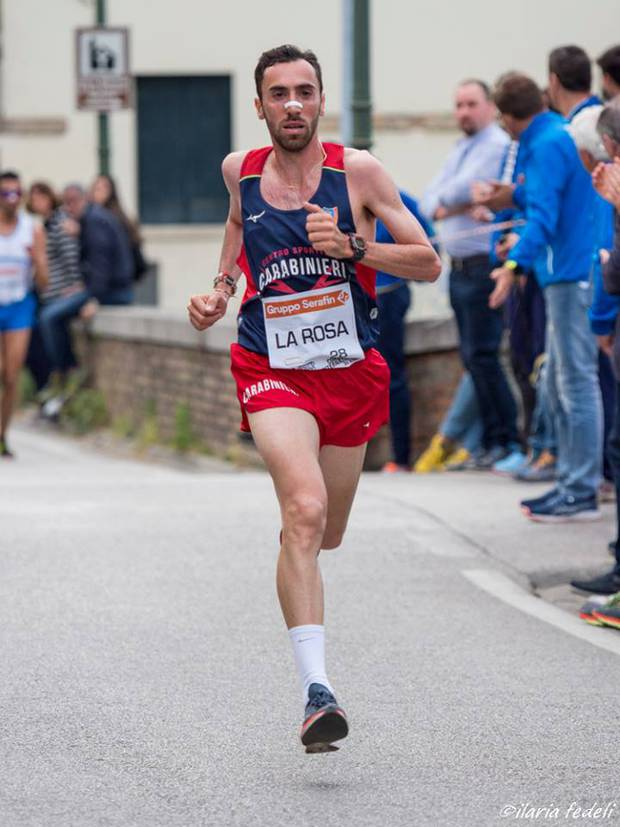Stefano La Rosa 6° nella mezza maratona di Tallin in Estonia