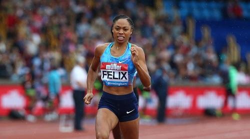 Il video della vittoria di Allyson Felix nei 400 metri in Polonia