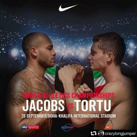 Jacobs Vs Tortu a Doha: la sfida anticipata sui social